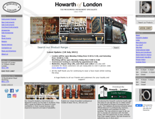 howarth.uk.com screenshot
