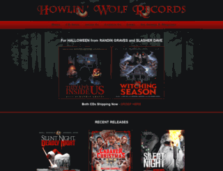 howlinwolfrecords.com screenshot