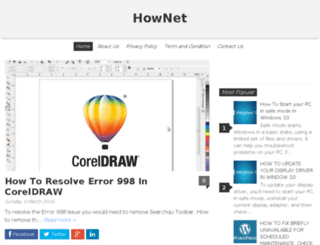 hownet.in screenshot