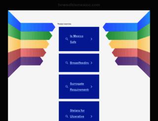 howsafeismexico.com screenshot