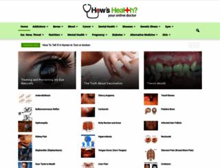 howshealth.com screenshot
