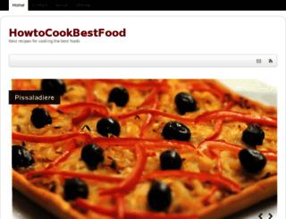 howtocookbestfood.com screenshot