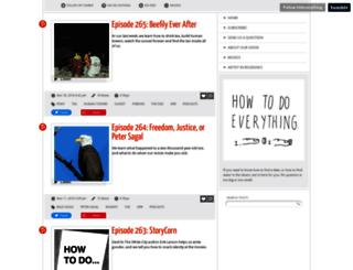 howtodoeverything.org screenshot