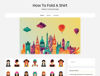 howtofoldashirt.net screenshot