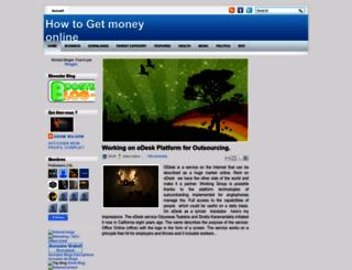 howtogetemoneyonline.blogspot.in screenshot