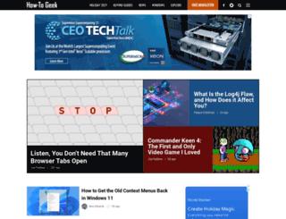 howtogreek.com screenshot