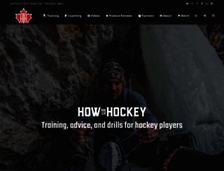 howtohockey.com screenshot