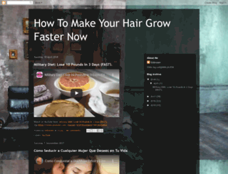 howtomakeyourhairgrowfasternow.blogspot.co.uk screenshot