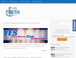 howtowhiten-teeth.com screenshot