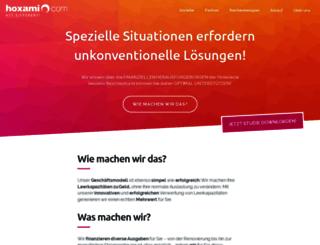 hoxami.com screenshot