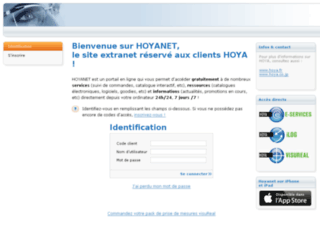 hoyanet.fr screenshot