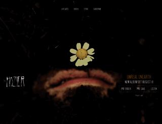hozier.com screenshot