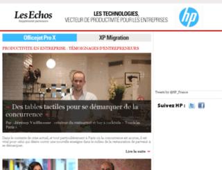 hp.lesechos.fr screenshot