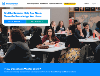 hpe.micromentor.org screenshot