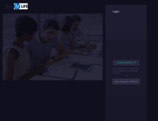 hplife.edcast.com screenshot