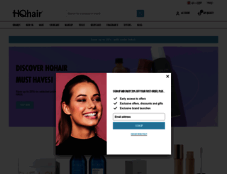 hqhair.com screenshot