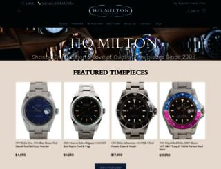 hqmilton.com screenshot