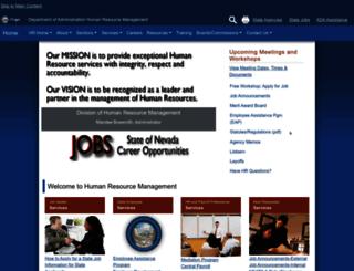 hr.nv.gov screenshot