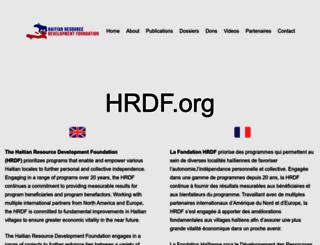 hrdf.org screenshot