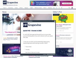 hrgrapevine.com screenshot
