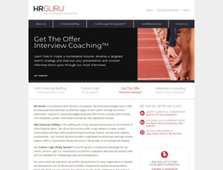 hrguru.biz screenshot