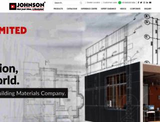 hrjohnsonindia.com screenshot