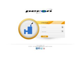 hrm.peconsoft.com screenshot