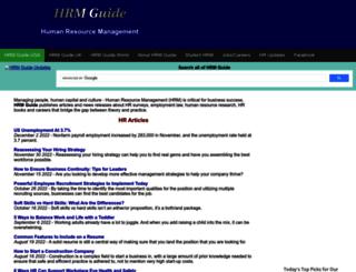 hrmguide.com screenshot