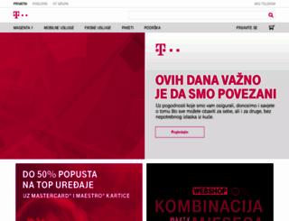 hrvatskitelekom.hr screenshot