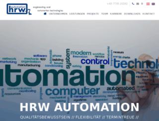 hrw-automation.eu screenshot