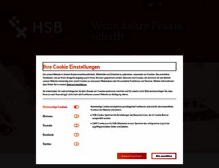 hs-bremen.de screenshot
