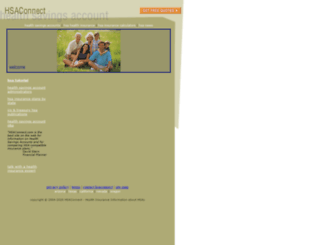 hsaconnect.com screenshot
