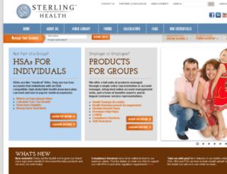 hsadev.sterlinghsa.com screenshot