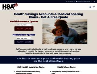 hsaforamerica.com screenshot