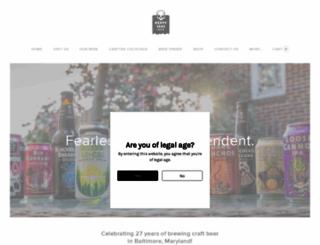 hsbeer.com screenshot
