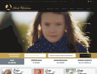 hthibodeau.com screenshot