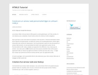 html5-tutorial.fr screenshot