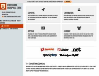 html5blank.com screenshot