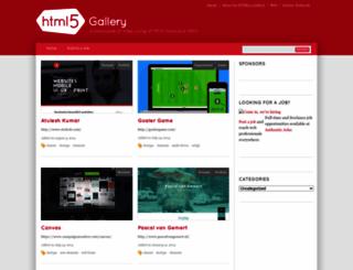 html5gallery.com screenshot