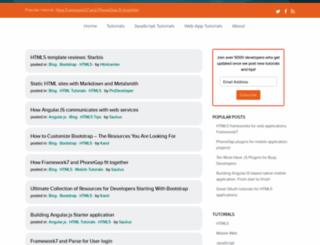 htmlcenter.com screenshot