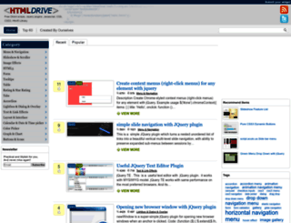 htmldrive.net screenshot