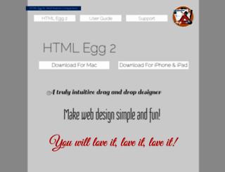 htmlegg.com screenshot