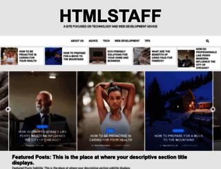 htmlstaff.org screenshot