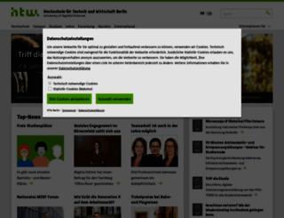 htw-berlin.de screenshot