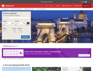 hu.hotels.com screenshot