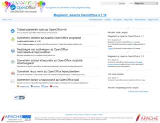 hu.openoffice.org screenshot