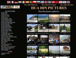 huahinpictures.thailand-huahin.com screenshot