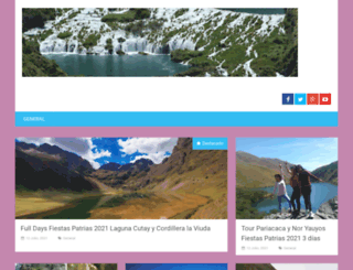 huancayaperu.com screenshot