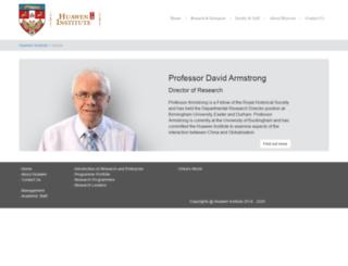 huawen.org.uk screenshot
