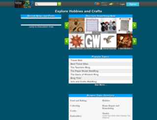 hub.hobbiesncrafts.org screenshot